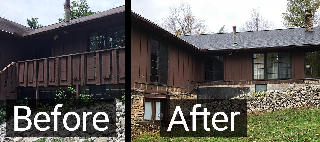 Demolition Indigo Roofing And Renovation